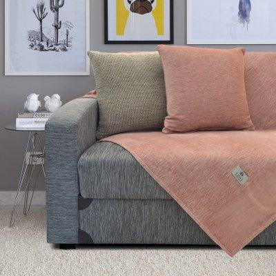 Ριχτάρι Πολυθρόνας (180x180) Lays Old Pink Lino Home