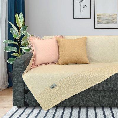 Ριχτάρι Τριθέσιου (180x300) Monca Beige Lino Home