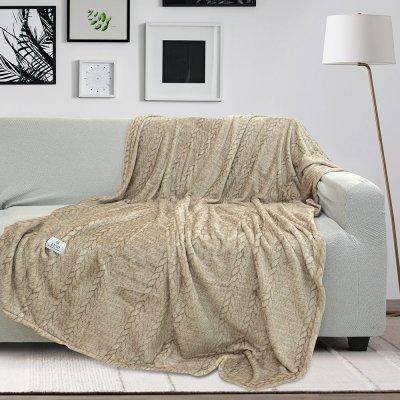 Ριχτάρι Τριθέσιου (180x300) Hany Beige Lino Home