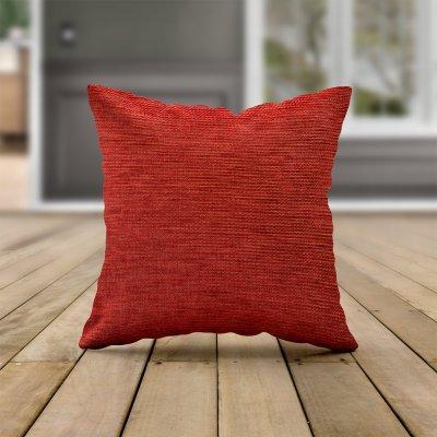 Διακοσμητική Μαξιλαροθήκη Tonia Red Marutx