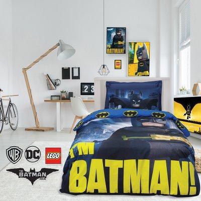 Σετ Κουβερλί Μονό Lego Batman 5003 Das Kids