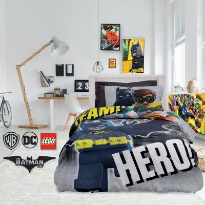 Σετ Κουβερλί Μονό Lego Batman 5004 Das Kids