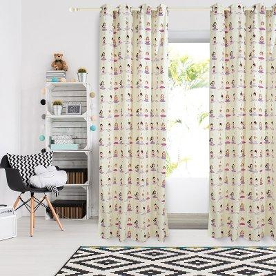 Κουρτίνα (140x260) Με Κρίκους 2137 Das Home