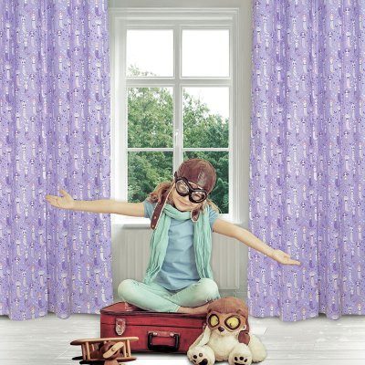 Κουρτίνα (140x260) Με Κρίκους 2157 Das Home