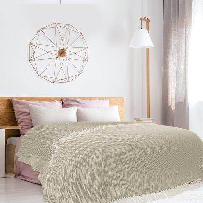Κουβέρτα Πικέ Υπέρδιπλη Με Κρόσια 342 Das Home