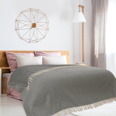 Κουβέρτα Πικέ Υπέρδιπλη Με Κρόσια 344 Das Home