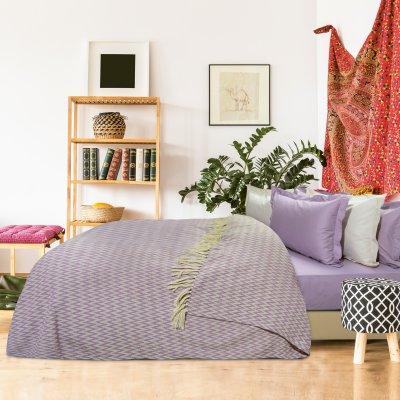 Κουβέρτα Πικέ Υπέρδιπλη Με Κρόσια 379 Das Home