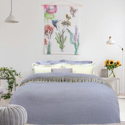 Κουβέρτα Πικέ Υπέρδιπλη Με Κρόσια 382 Das Home