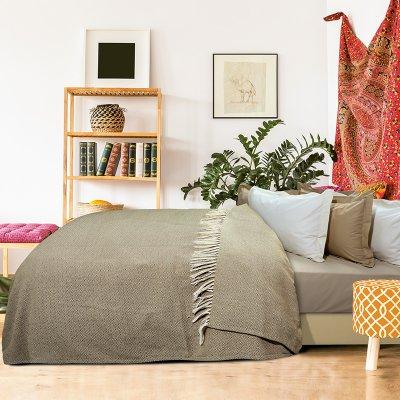 Κουβέρτα Πικέ Υπέρδιπλη Με Κρόσια 383 Das Home