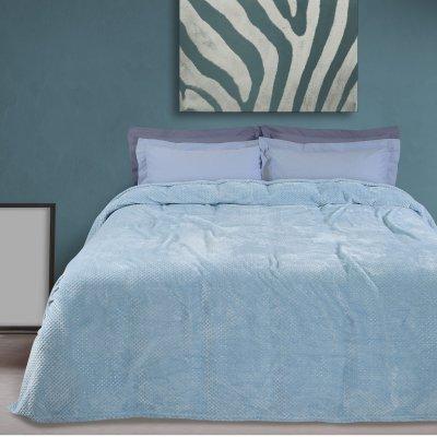 Κουβέρτα Fleece Μονή 0441 Das Home