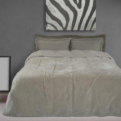 Κουβέρτα Fleece Υπέρδιπλη 0443 Das Home