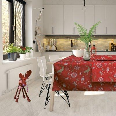 Χριστουγεννιάτικο Τραπεζομάντηλο (140x180) 0549 Das Home
