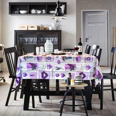 Αλέκιαστο Τραπεζομάντηλο (140x240) Orient Lilac Lino Home