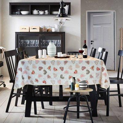 Αλέκιαστο Τραπεζομάντηλο (140x180) Cute Ecru Lino Home