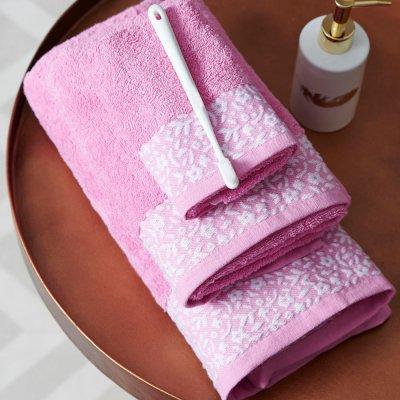 Πετσέτα Λουτρού Primavera Pink Palamaiki