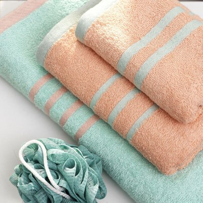 Σετ Πετσέτες Μπάνιου (3τμχ) Contrast Yellow Ciel Palamaiki