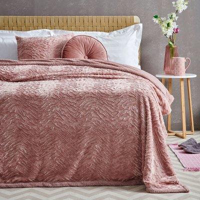 Κουβέρτα Fleece Υπέρδιπλη Bonbon Palamaiki