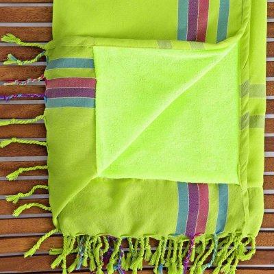 Πετσέτα/Παρεό Θαλάσσης Mahabali Green Nima Home
