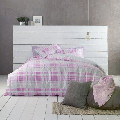 Σετ Σεντόνια Υπέρδιπλα Melville Pink Nima Home