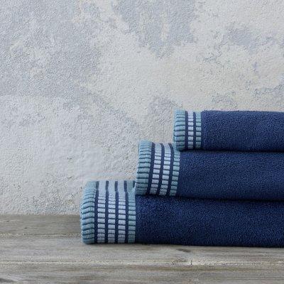 Σετ Πετσέτες Μπάνιου Siren Ocean Blue Nima Home