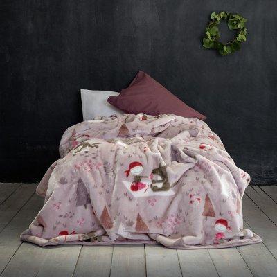 Κουβέρτα Βελουτέ Μονή Little Red Riding Hood Nima Kids