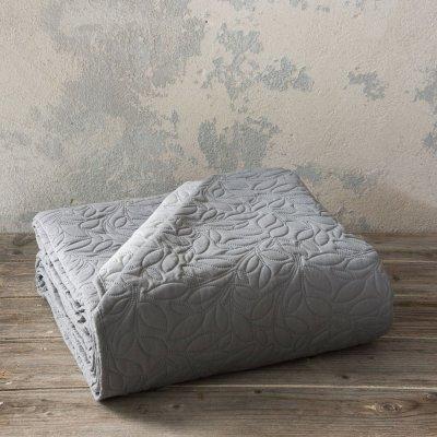 Κουβερλί Γίγας Foglie Graphite/Gray Nima Home