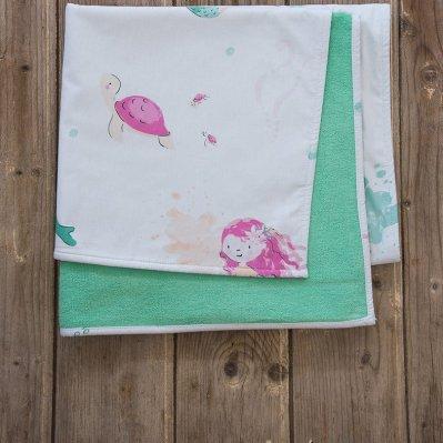 Παιδική Πετσέτα Θαλάσσης Mermaids Nima Kids
