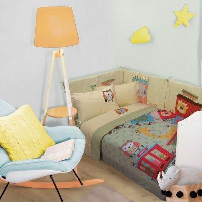 Πάπλωμα Κούνιας Smile Digital 6597 Das Kids