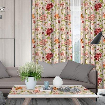 Κουρτίνα (150x275) Με Τρέσα Campari 301 Pink Lino Home