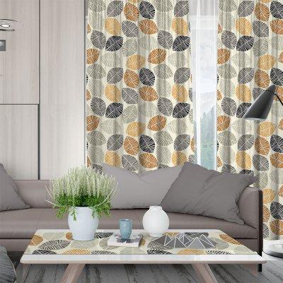 Κουρτίνα (150x275) Με Τρέσα Pam Pam 850 Gray Lino Home