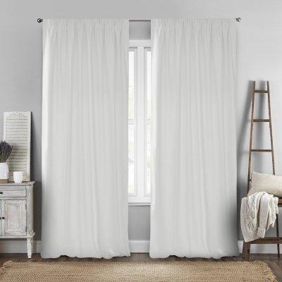 Κουρτίνα (140x280) Με Τρέσα Renas 209 Off White Lino Home