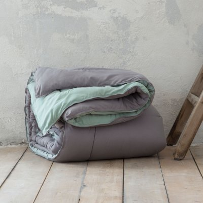 Πάπλωμα Γίγας Abalone Gray/Mint Nima Home