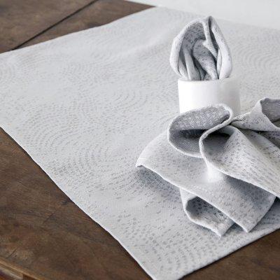 Σετ πετσέτες Κουζίνας (4τμχ) Allium Gray Nima Home