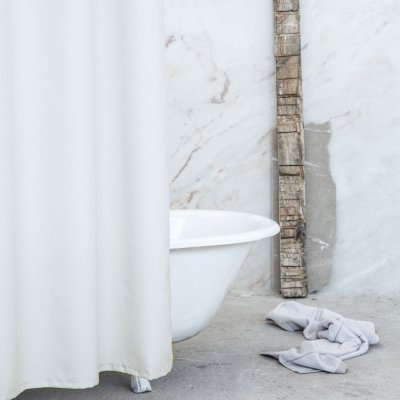 Κουρτίνα Μπάνιου (180x180) Essential Beige Nima Home