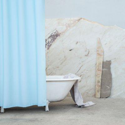 Κουρτίνα Μπάνιου (180x180) Essential Blue Nima Home
