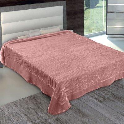 Κουβέρτα Βελουτέ Υπέρδιπλη 801 Opal Rose Adam Home
