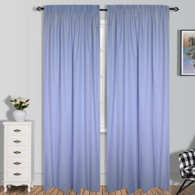 Κουρτίνα (140x280) Με Τρέσα Gazel Lilac Lino Home
