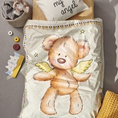 Σετ Σεντόνια Κούνιας Happy Baby 0571 Palamaiki