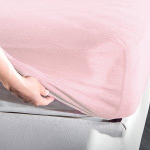 Σεντόνι Μακό Κούνιας Με Λάστιχο Jersey Pink La Luna