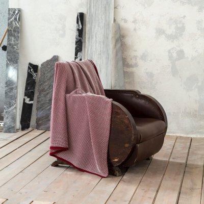 Κουβέρτα - Ριχτάρι Καναπέ Lint Red Nima Home