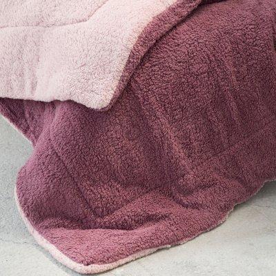 Κουβερτοπάπλωμα Μονό Melt Powder Pink/Cassis Nima Home