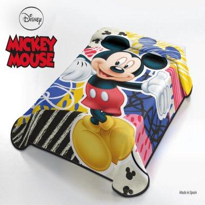 Κουβέρτα Βελουτέ Μονή Mickey Mouse Disney Belpla