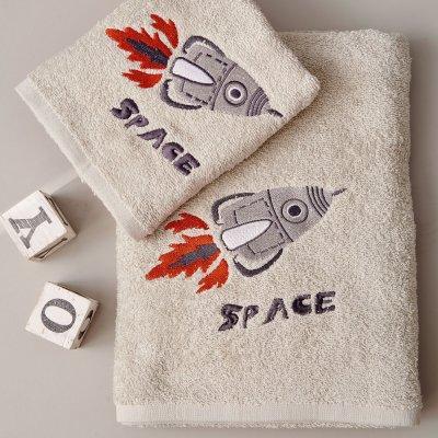 Σετ Πετσέτες Παιδικές (2τμχ) Space Palamaiki