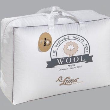 Πάπλωμα Μάλλινο Μονό Wool Natural La Luna
