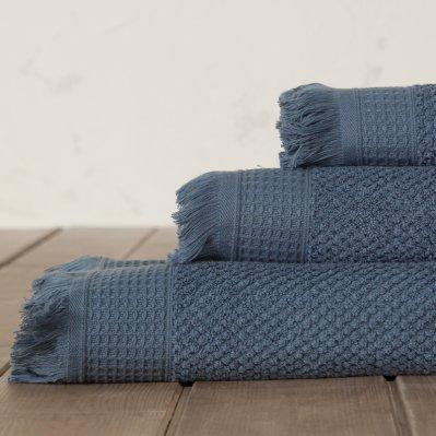 Πετσέτα Χεριών Dorinda Blue Nima Home