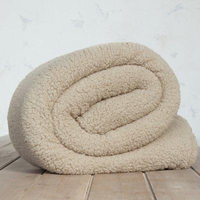 Κουβέρτα Fleece Υπέρδιπλη Manta Beige Nima Home