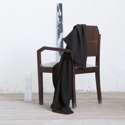 Κουβέρτα - Ριχτάρι Καναπέ Ribbon Black Nima Home
