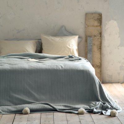 Κουβέρτα Πλεκτή Μονή Snug Mint Nima Home