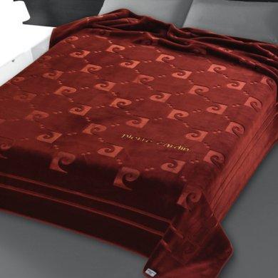 Κουβέρτα Βελουτέ Υπέρδιπλη Nancy 654/16 Pierre Cardin