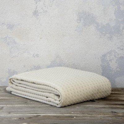 Κουβέρτα Πικέ Μονή Habit Sand Beige Nima Home